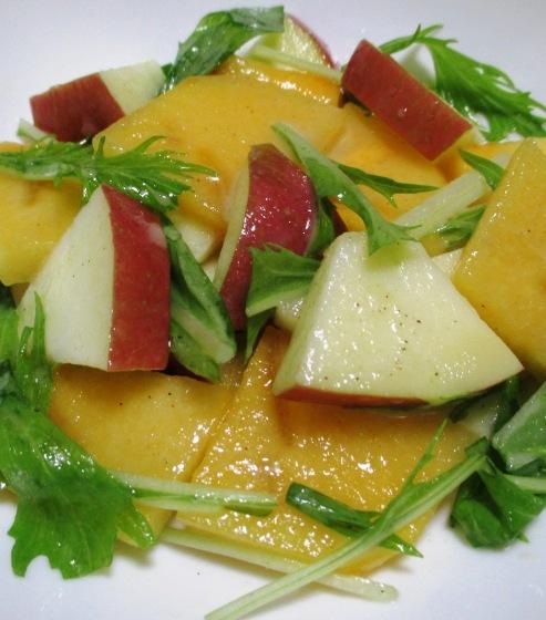 柿とりんごのシナモンサラダ B