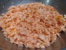 鮭ふりかけ 調理①