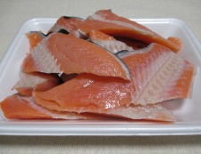 鮭ふりかけ 材料①
