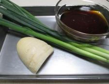 テリヤキハンバーグ 材料②と調味料