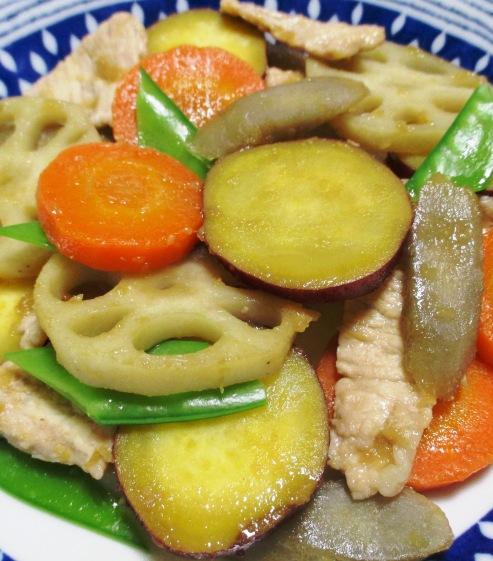 根菜の生姜炒め B