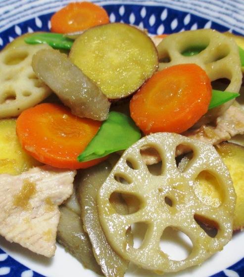 根菜の生姜炒め 拡大