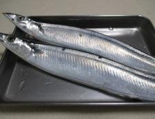 秋刀魚の一味唐揚げ 材料