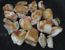 鶏もも肉のおろし照り焼き 調理④