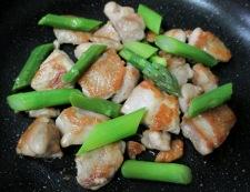 鶏もも肉のおろし照り焼き 調理⑤