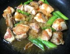 鶏もも肉のおろし照り焼き 調理⑥