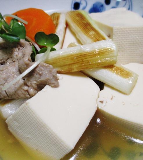 焼きねぎ豆腐 B