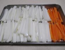 白菜の甘辛漬け 調理②