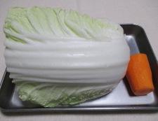 白菜の甘辛漬け 材料