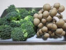 ブロッコリー 調理①材料