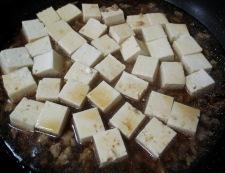 豆腐と炒り卵のオイスターソース煮 調理④