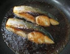 ブリの照り焼き 調理③