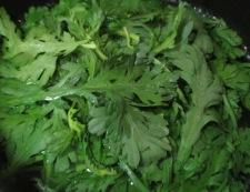 菊菜エリンギ 調理①