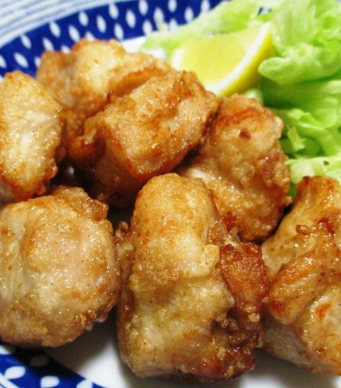 鶏むね肉の中華風唐揚げ B
