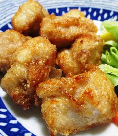 鶏むね肉の中華風唐揚げ 拡大