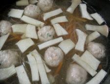 春雨スープ 調理④