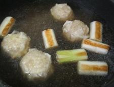 焼売スープ 調理②