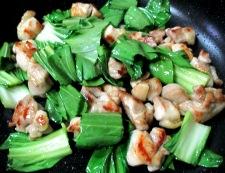鶏もも肉のパプリカ胡麻ラーユ炒め 調理④