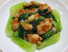 鶏もも肉のパプリカ胡麻ラーユ炒め 調理⑥