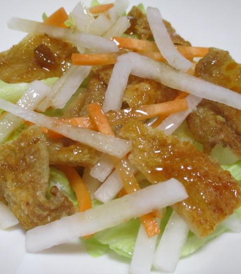 鶏皮サラダ B