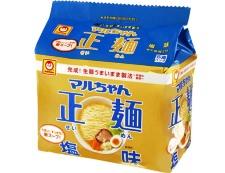 マルちゃん正麺 塩味 5食パック 写真