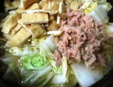 白菜とツナの炊いたん 調理⑤