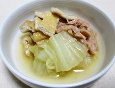 白菜とツナの炊いたん 調理⑥