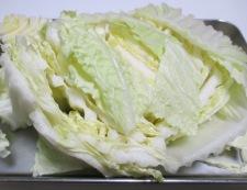 白菜とツナの炊いたん 調理①