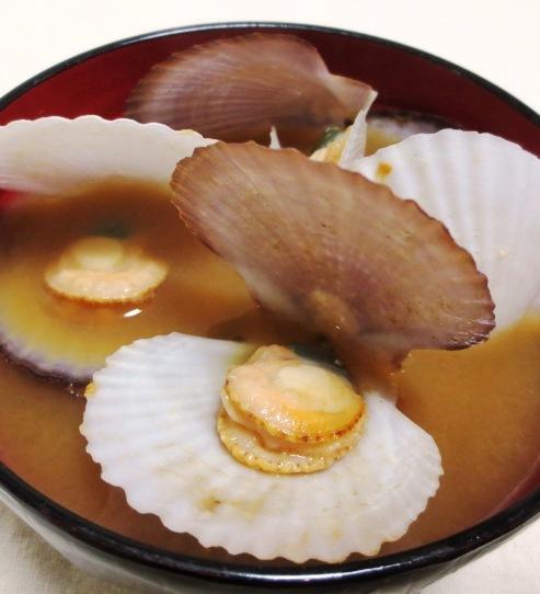 稚貝の味噌汁 B