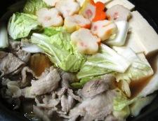 豚こま白菜豆腐 調理③