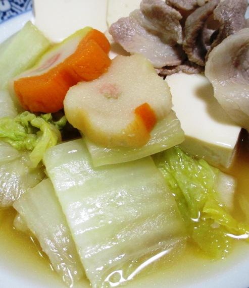 豚こま白菜豆腐 B