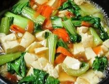 くずし豆腐 調理④
