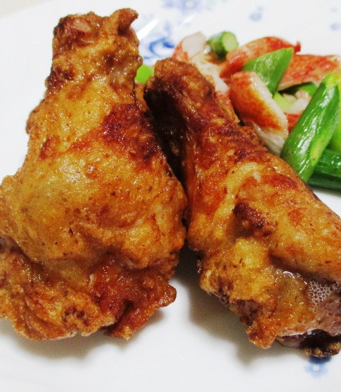 鶏手羽元のペパー醤油唐揚げ B