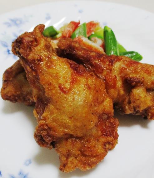 鶏手羽元のペパー醤油唐揚げ 拡大