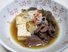 牛すじ焼き豆腐 調理⑥