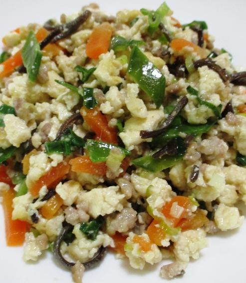 炒り豆腐 B