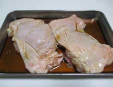 鶏もも肉のチャーシュー風 【下準備】②