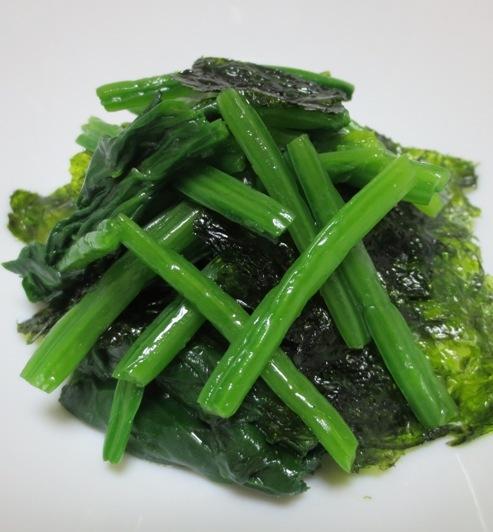 韓国海苔ほうれん草 B