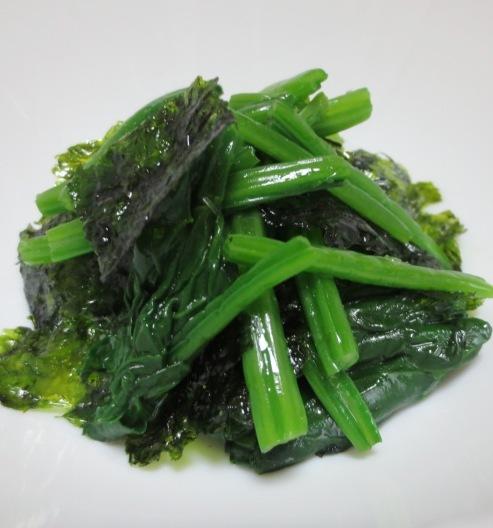 韓国海苔ほうれん草 大