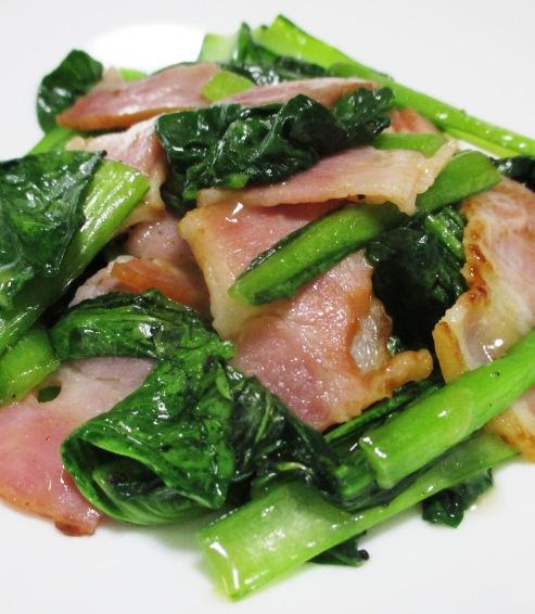小松菜ベーコン B