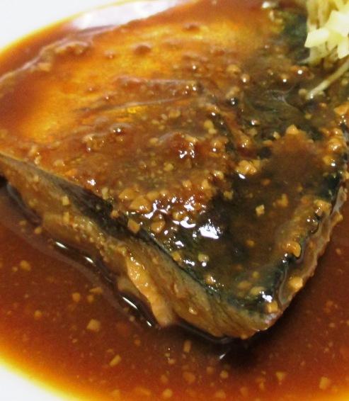 サバの味噌煮 拡大