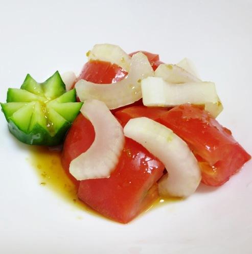 トマト&セロリのサラダ B