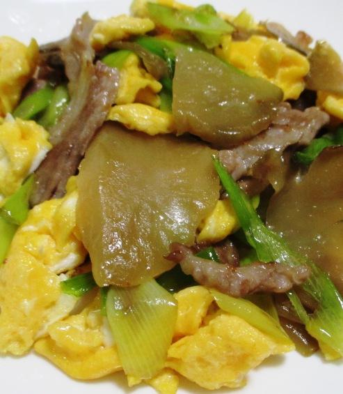 ザーサイと豚肉の炒め物 B