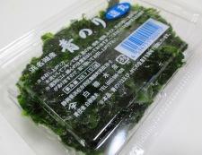 青海苔の佃煮 材料