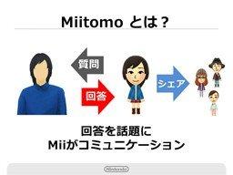 任天堂初のスマホ向けゲーム「Miitomo」 中身はSNSサービスに近い模様
