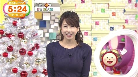 加藤綾子 めざましテレビ