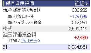 評価損益20151114