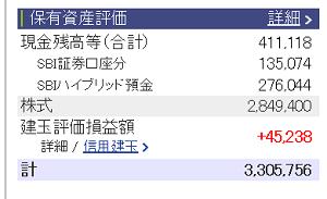 評価損益20151205