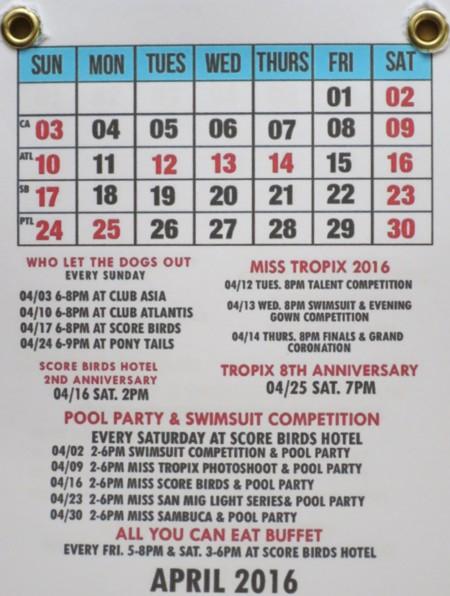 DH calendar16 April