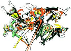 パチンコ「CR 仮面ライダー フルスロットル」で使用されている歌と曲の紹介。「闘え!7人ライダー~RIDER CHIPS Ver~」